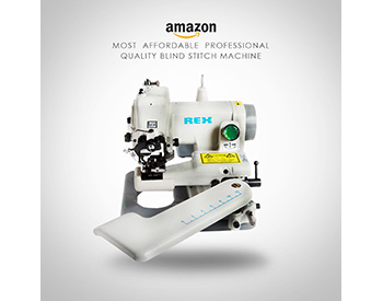 best sewing machine for hemming pants REX RX 518