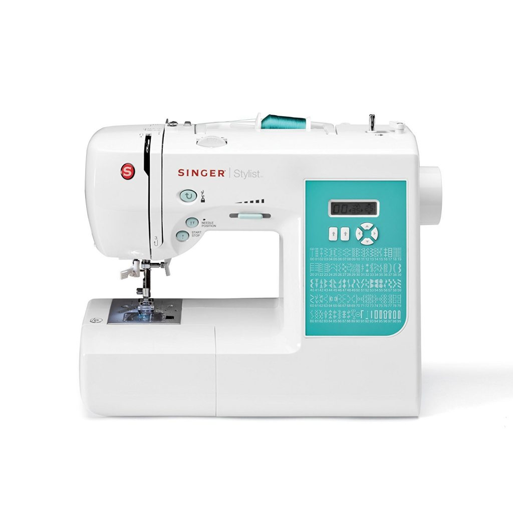 SINGER | 7258 100-Stitch Computerized Sewing Machine with 76 Decorative Stitches, Automatic Needle Threader and Bonus Accessories,