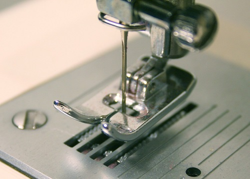 oily sewing machine